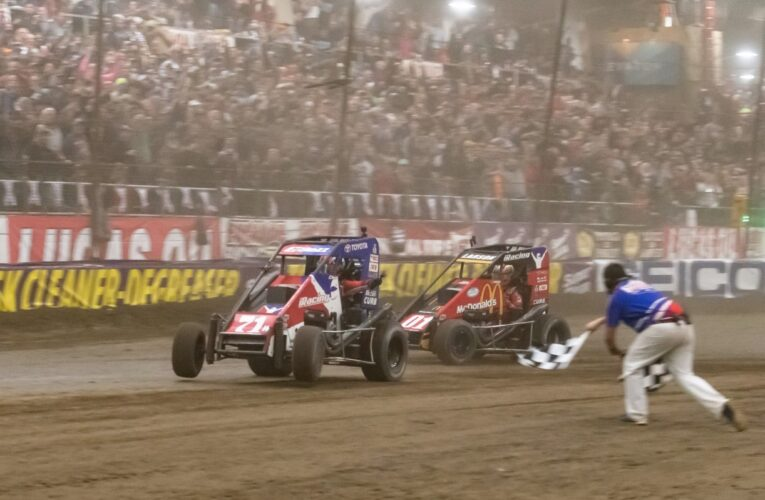 USAC, NASCAR and IndyCar Stars have a go at Chili Bowl