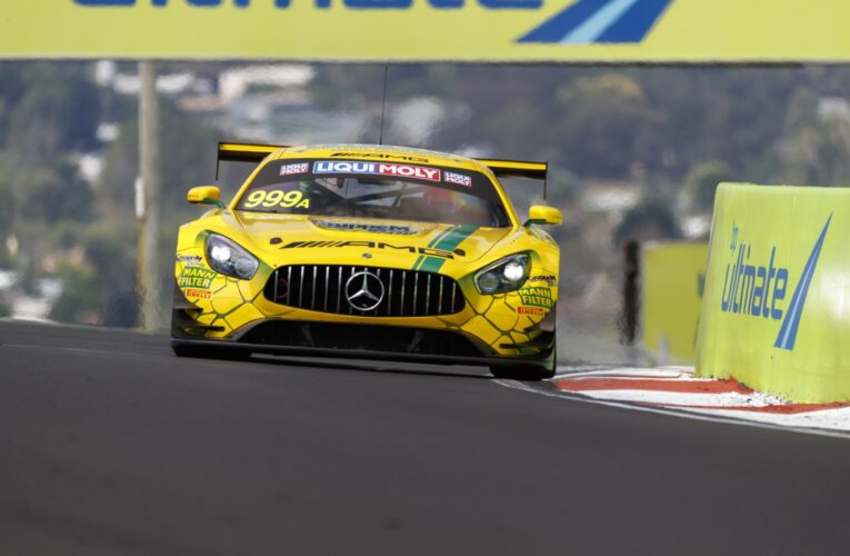 Mercedes quickest in today's practice for Bathurst 12 Hour