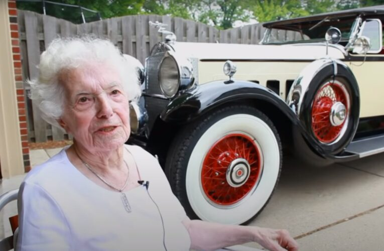 Video: Two Classics, One Car: A Collector Shows Off Her Lifelong Favorite  (Update)