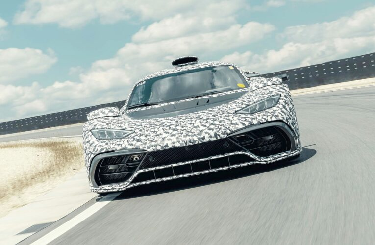Mercedes-AMG Project ONE: testing reaches an exciting phase