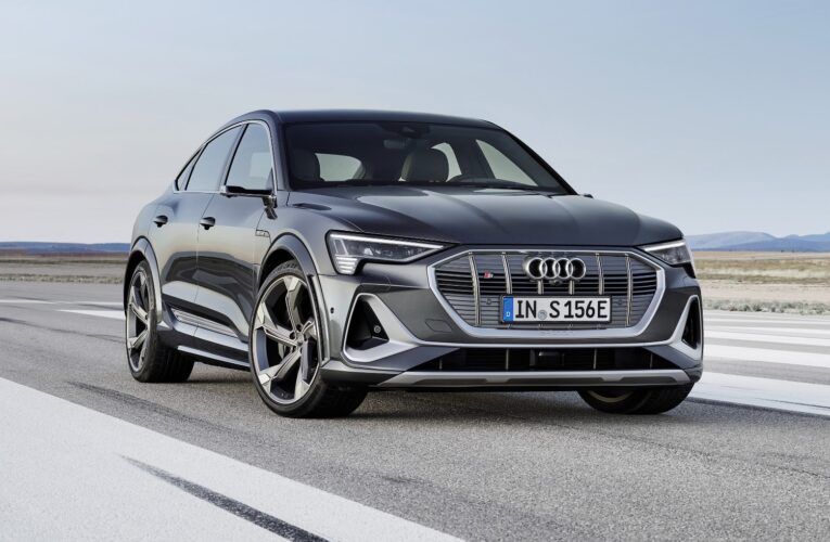 2022 Audi e-tron GT to arrive w/3 years of complimentary DC fast charging