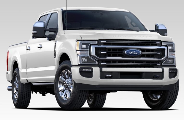 We drive the Ford F250 Platinum