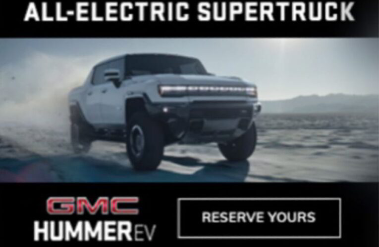 Hummer EV image leaked before tonight's reveal