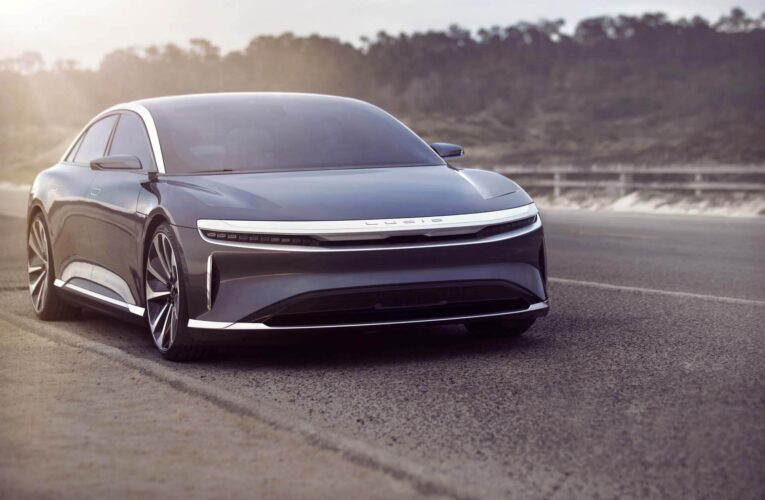 Lucid Air EV to have 517 miles of battery range