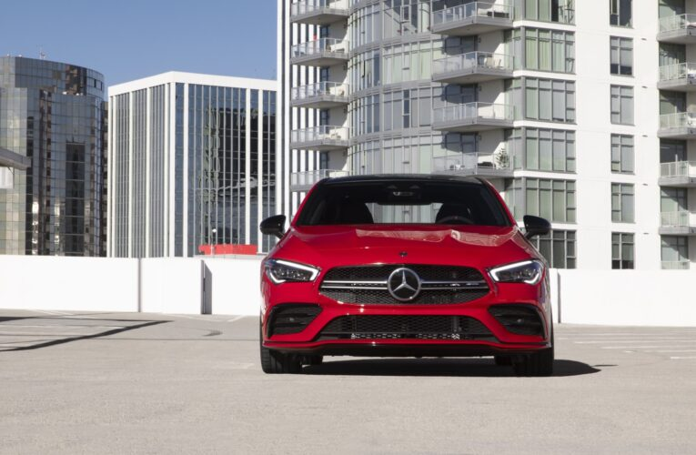 We drive the Mercedes-AMG CLA 35