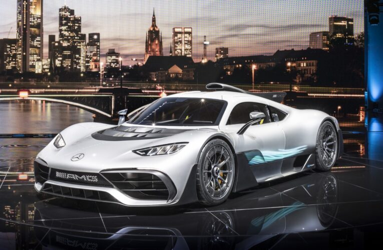 Mercedes-AMG releases Video of the Project ONE