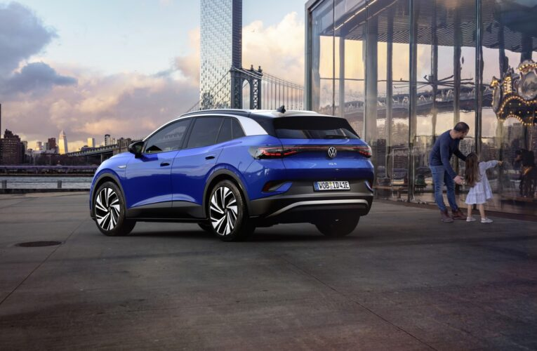 The first version of VW ID.4 electric SUV sold out on the first day