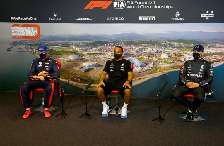 Russian GP post-qualifying press conference