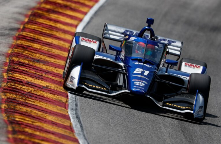Veekay will have to change IndyCar teams to win title