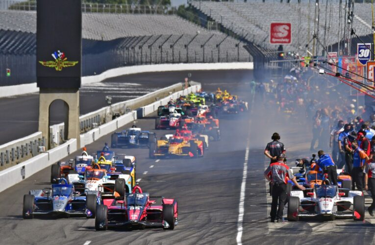 NTT IndyCar Drivers to Test Oct. 28-29 on IMS Oval  (Update)