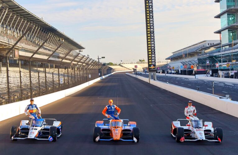 Photos of Indy 500 Front-Row