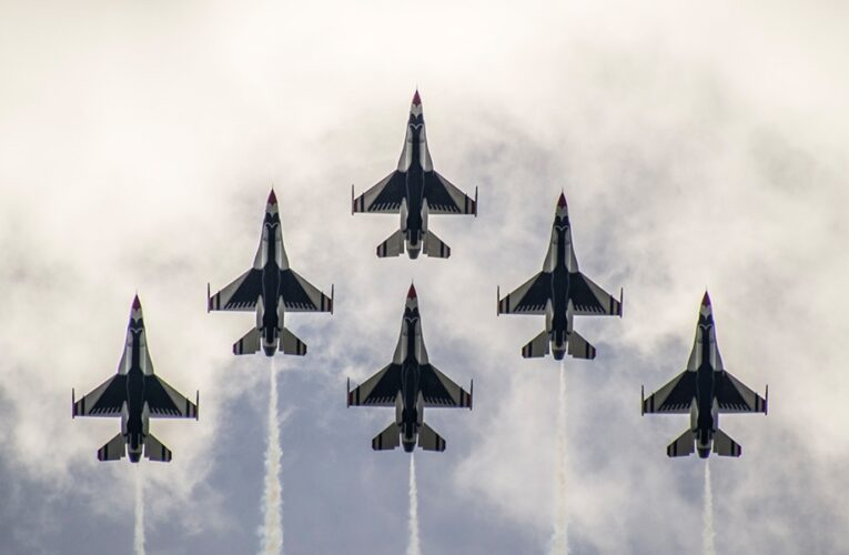 USAF Thunderbirds To Perform Flyover on Indianapolis 500 Race Day