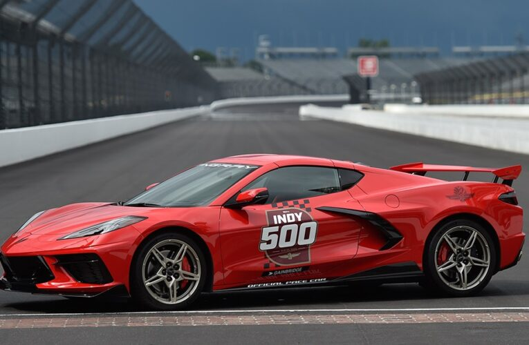 2020 Corvette To Lead Field To Green Flag at Indy