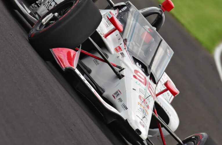 Andretti Honda teammates begin to flex muscle as Indy speeds climb to over 233mph