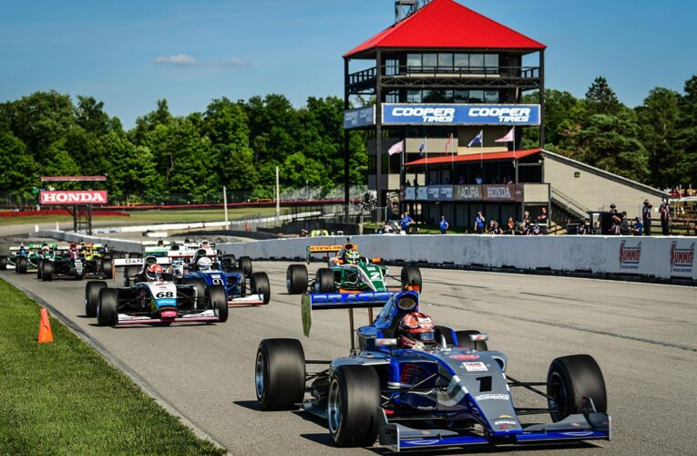 Eves is Perfect in Indy Pro 2000 at Home Track