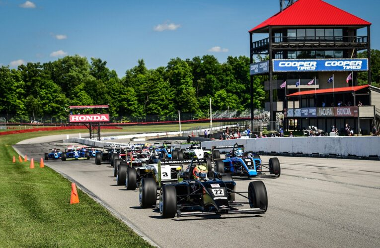 Rasmussen Romps to Another USF2000 Win at Mid-Ohio