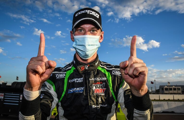 Robb Scores Another Stylish Indy Pro 2000 Win