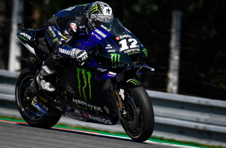 Vinales tops opening practice at Misano