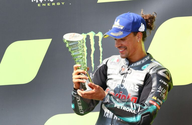 Morbidelli wins at Misano for first MotoGP win