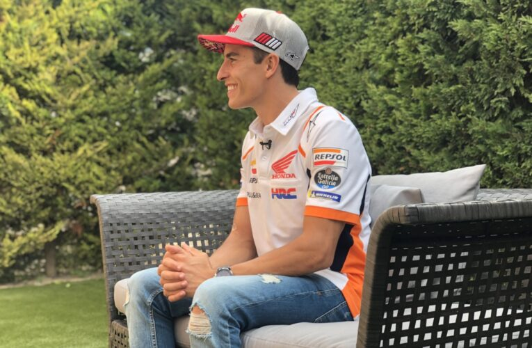 """Video Marc Marquez: """"Don't worry, we will come back to the top"""""""