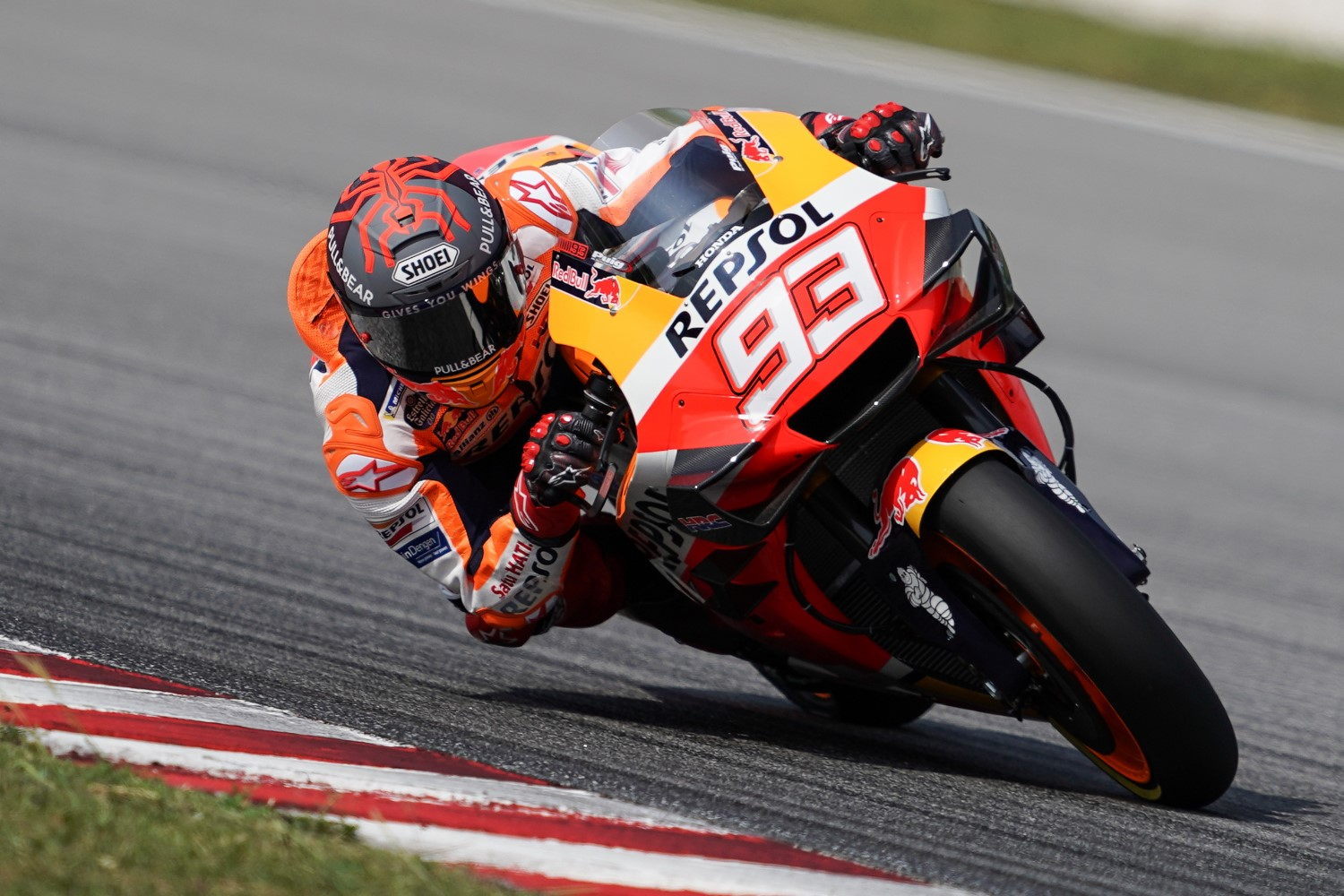 Still recovering from major surgery, Marc Marquez only ran half a day and did not try hard