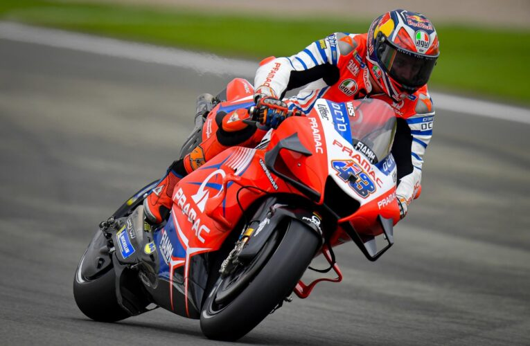 MotoGP: Jack Miller finishes Friday on top in Valencia