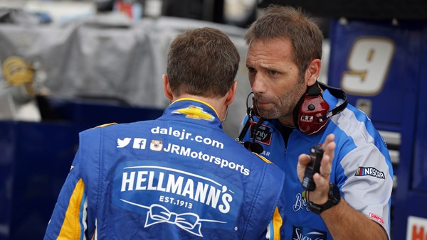 Mike Bumgarner Named Crew Chief for JRM's No. 1 Team