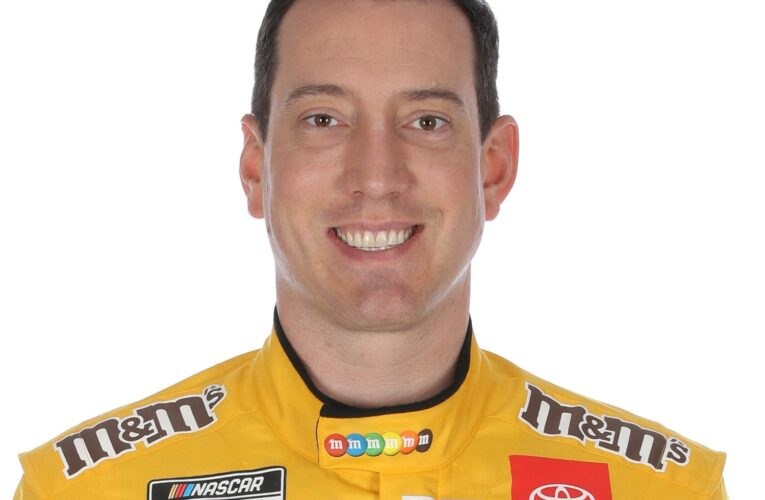 Kyle Busch would hate to see Fontana made into a short track