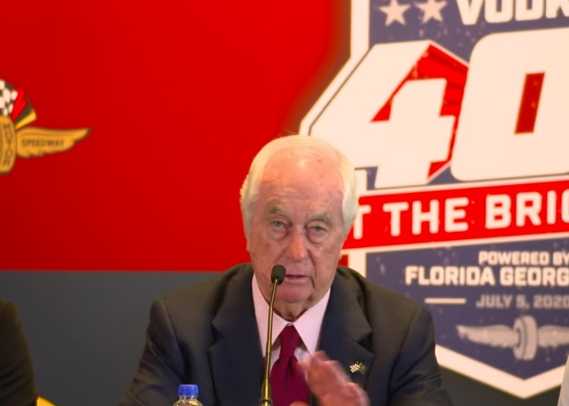 Roger Penske takes it on the chin again
