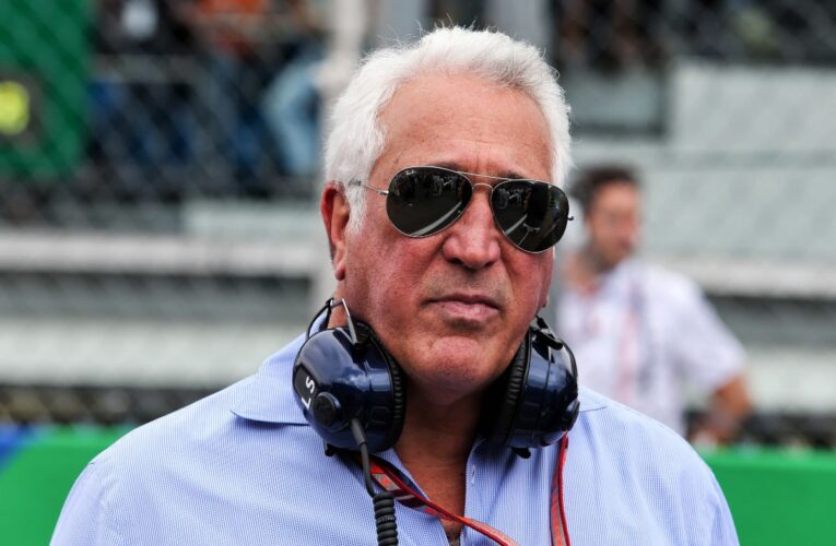 Ecclestone scolds Stroll over 'pink Mercedes' affair