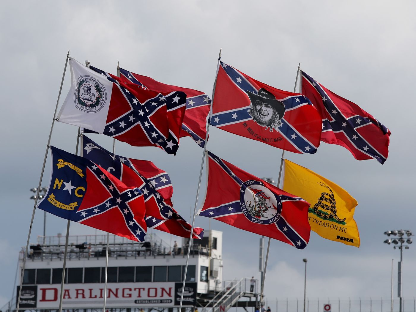 Will NASCAR risk losing half their fanbase by banning the Confederate Flag for Bubba Wallace?