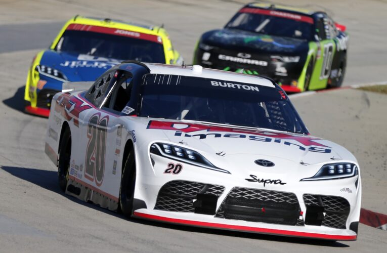 Burton earns back-to-back Xfinity victories