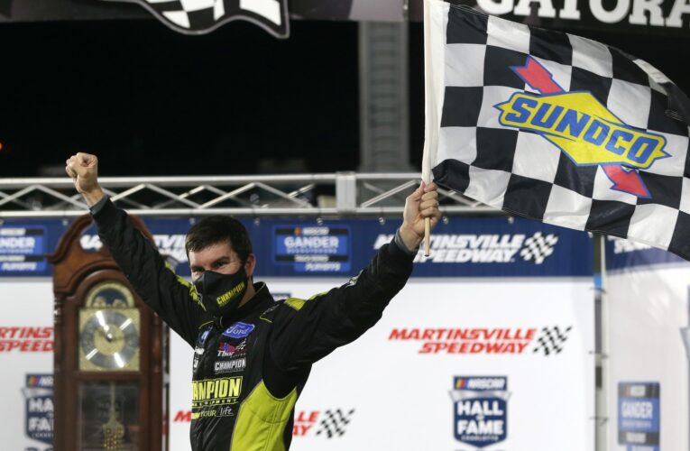 Enfinger races into Championship 4 with Gander Trucks win