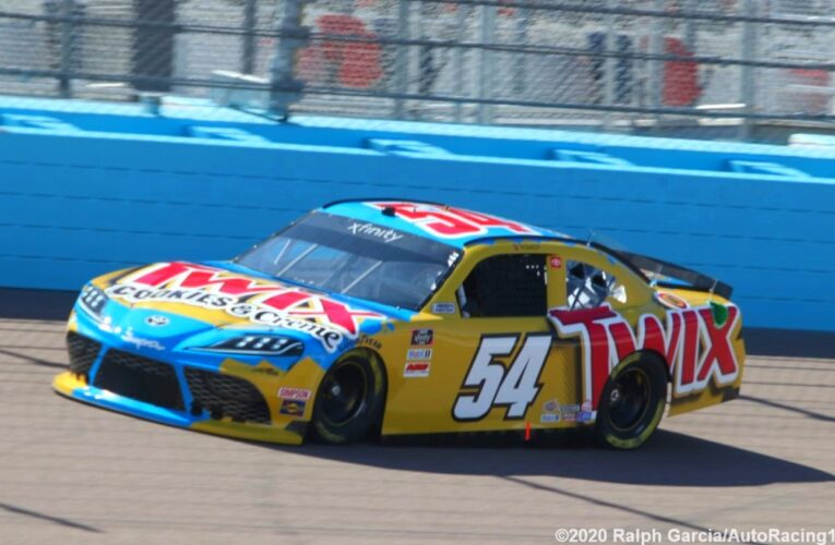 Kyle Busch tops final Xfinity Series Practice