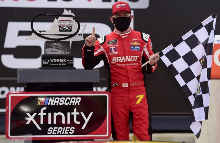 Allgaier sweeps Xfinity Series doubleheader at Richmond