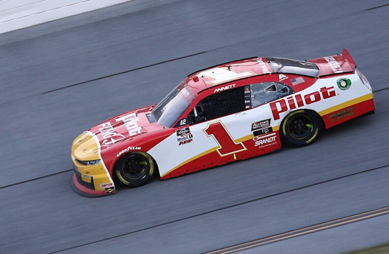 NASCAR disqualifies Michael Annett car after Talladega