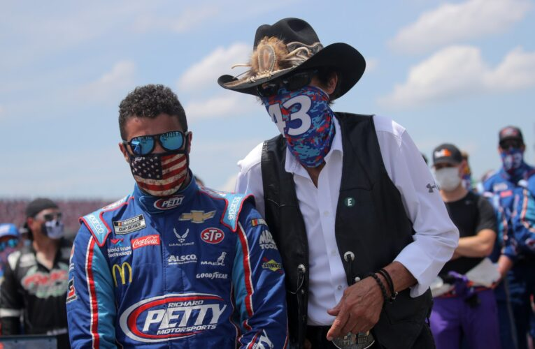 Bubba Wallace to leave Petty Team