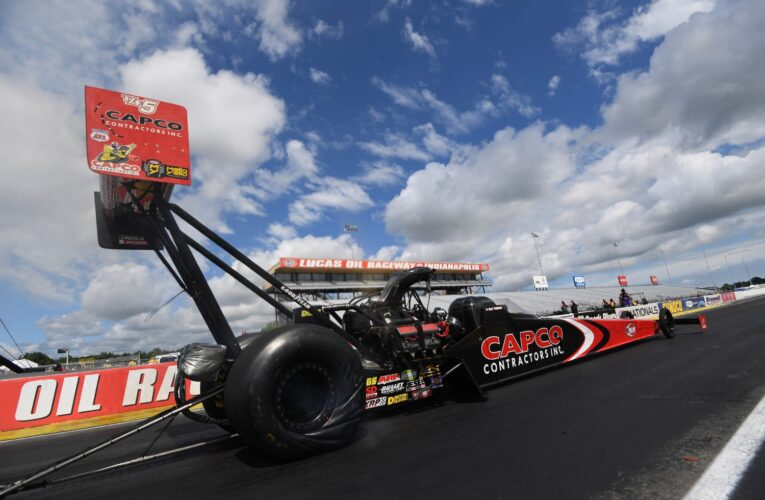 NHRA weekend results from Indianapolis