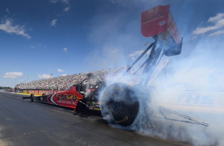 NHRA resumes season in front of limited crowds
