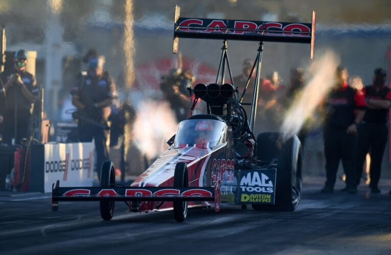 NHRA: Torrence, Capps, Anderson, and Kraweic lead Las Vegas fields