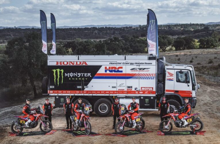 Honda out to defending the #1 at the 2021 Dakar Rally