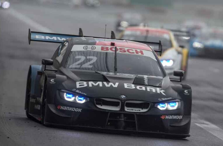 Auer passes Glock on last lap for BMW 1-2