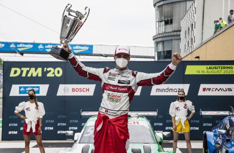 Rast and the rest: they are all after points' leader Nico Müller
