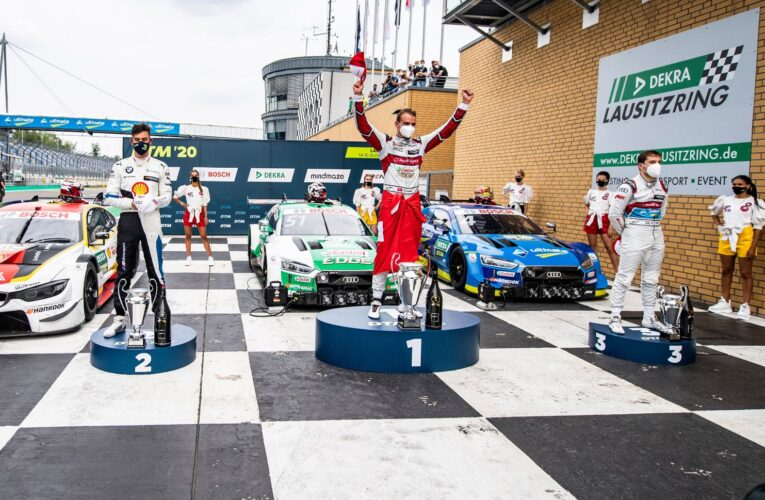 Audi driver Nico Muller also wins at the Lausitzring