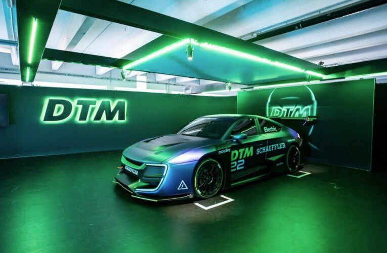 DTM moves ahead with fully-electric race series