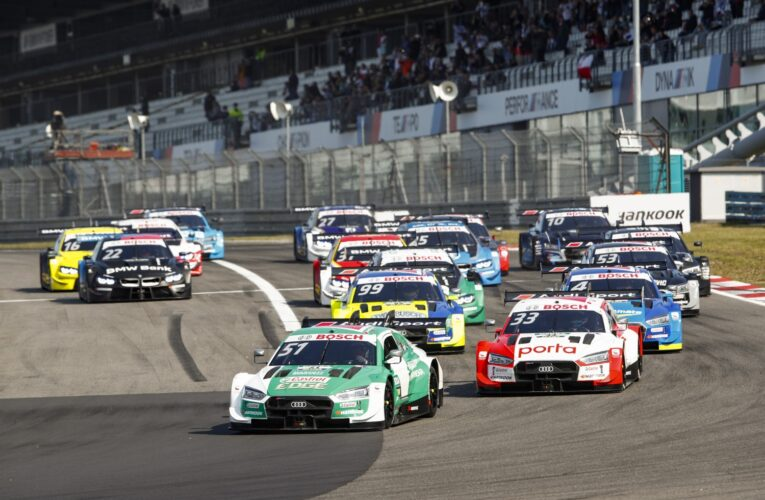 DTM suspense at the Nurburgring