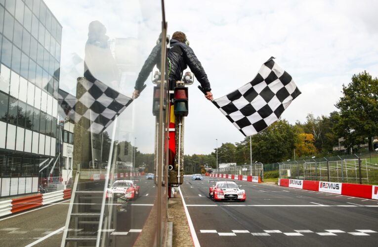 DTM at Zolder: Rast takes 3rd-in-row and points lead