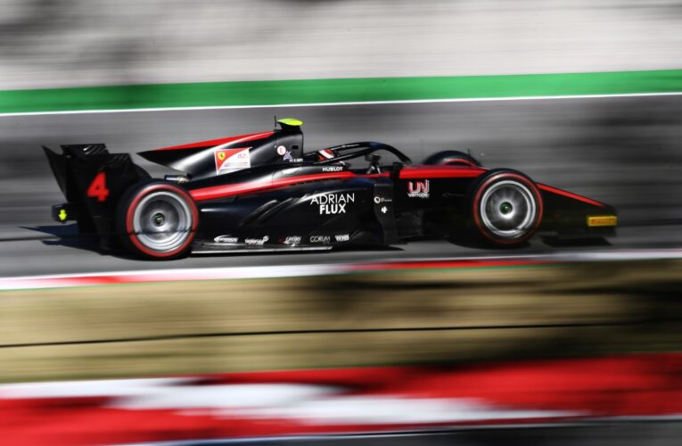 Ilott heads Shwartzman in Barcelona for second successive pole