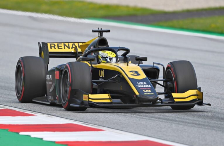 F2: Zhou takes first win in red-flagged race