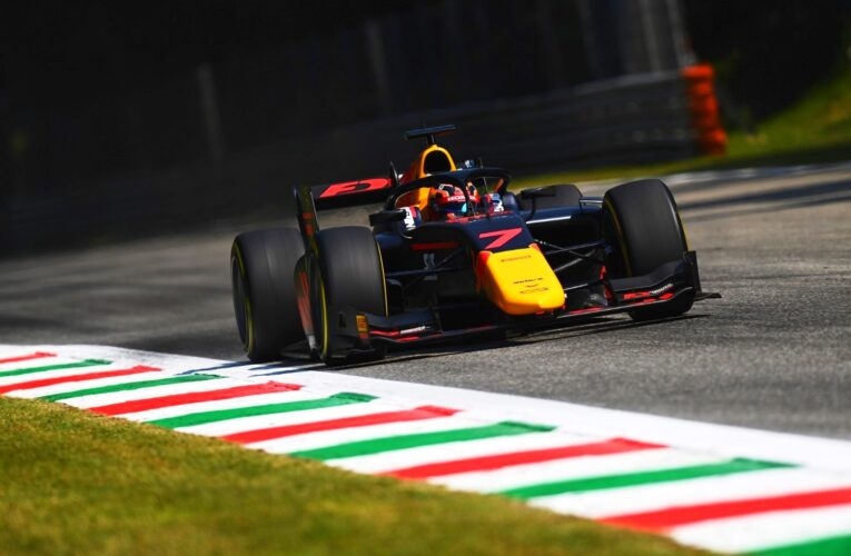 F2: Tsunoda tops fourth Free Practice of 2020 in Monza